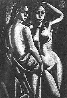 John Buckland-Wright, 1931: tWO wOMEN