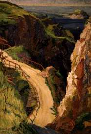 "Haszard, ""The Road to Little Sark"", 1930, Ak Art Gallery"